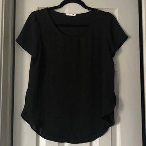 Lush short sleeve top